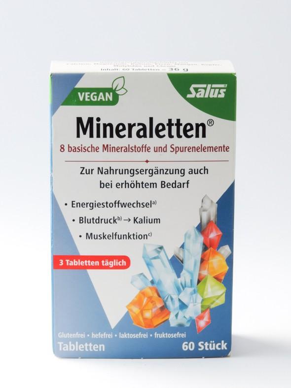 Mineraletten ayuda metabolismo energético, presión..